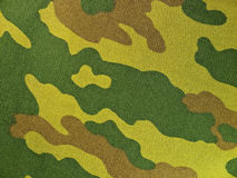 Camouflage Fabric Stock Photo