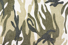Camouflage fabric Royalty Free Stock Images