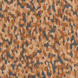 Camouflage fabric material Royalty Free Stock Images