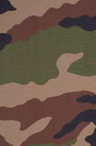 Camouflage background. A camouflage fabric of a military uniform Royalty Free Stock Image