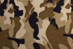Camouflage fabric pattern Stock Photo