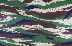 Camouflage fabric Stock Image