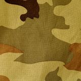Camouflage fabric texture. Stock Photo