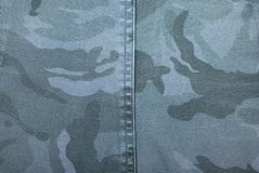 Camouflage fabric texture Royalty Free Stock Images