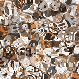 Camouflage fabric texture Royalty Free Stock Image