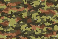 Camouflage Fabric Textures, Textures  Royalty Free Stock Photos