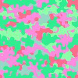 Camouflage fashion pattern seamless background. Abstract fun ani. Mal military camouflage. Seamless pattern for party, dress, shirt, children fashion cloth Royalty Free Stock Photo