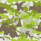 Camouflage seamless pattern Stock Photo