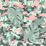 Camouflage flower Royalty Free Stock Photography