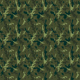 Camouflage Forest Seamless Tile Pattern Stock Images