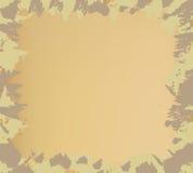 Camouflage frame Stock Image