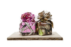 Camouflage Gifts Royalty Free Stock Photography