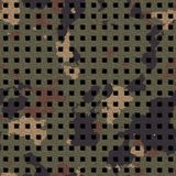 Camouflage grate Royalty Free Stock Image