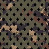 Camouflage grate Stock Images