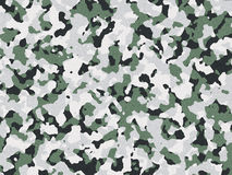 Camouflage green and black Stock Photo