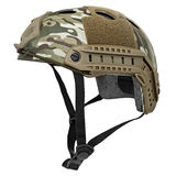 Camouflage, green, khaki military helmet Royalty Free Stock Images