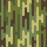 Camouflage. Green camouflage of puzzles. Seamless pattern for your design vector illustration