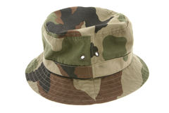 Camouflage hat Royalty Free Stock Photo