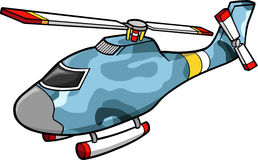 Camouflage Helicopter. Military camouflage Helicopter Vector Illustration Royalty Free Stock Photo