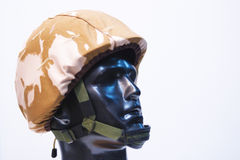 Soldier helmet Stock Photo