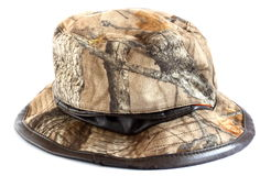 Camouflage hunting hat Royalty Free Stock Photography