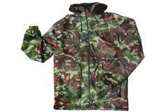 Camouflage jacket stock photography
