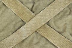 Camouflage kaki fané superficiel par les agents d'armée militaire avec la ceinture Backg Photographie stock