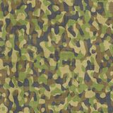 Camouflage material fabric. Large background image of military camouflage material Stock Photos