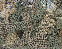 Camouflage mesh Stock Photo