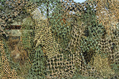 Camouflage Mesh Stock Image