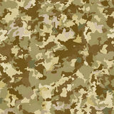 Camouflage military background. Abstract pattern. Vector illustration Stock Photos