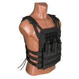 Camouflage, military body armor, mannequin Stock Photos