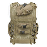 Camouflage, military body armor, mannequin Stock Photography