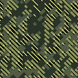 Camouflage military halftone pattern background. Vector illustration, EPS Royalty Free Stock Photography