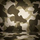 Camouflage military interior background Stock Image