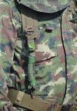 Camouflage military jacket Stock Photo