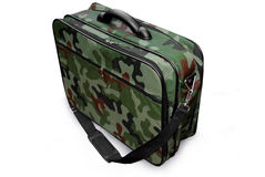Camouflage military suitcase Royalty Free Stock Photos