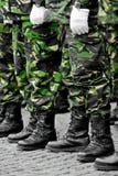 Camouflage military uniform Royalty Free Stock Image