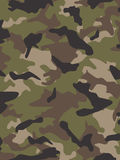 Camouflage multi de came des USA Photographie stock