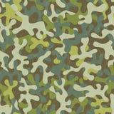 Camouflage naadloos patroon Royalty-vrije Stock Foto