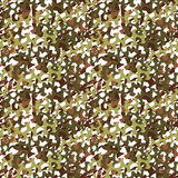Camouflage net, camoflage scrim seamless pattern or texture.  Stock Photo