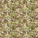 Camouflage net, camoflage scrim seamless pattern or texture. Vector fabric design for textile industry. Realistic illustration Stock Image
