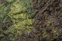 Camouflage net Royalty Free Stock Photo