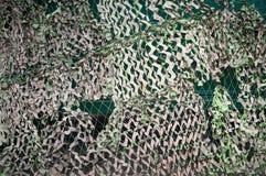 Camouflage net. Stock Image