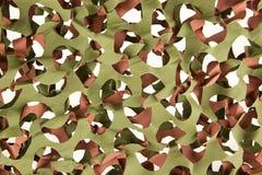 Camouflage net isolated Royalty Free Stock Image