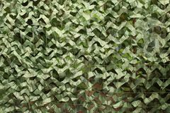 Camouflage net Stock Photography