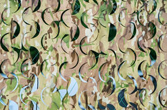 Camouflage net Stock Photo
