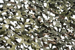 Camouflage Netting Stock Photography