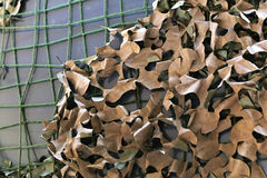 Camouflage netting Royalty Free Stock Photography