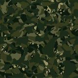 Camouflage openlucht vernietigend kaki naadloos patroon stock illustratie